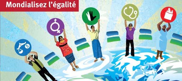 image pour la campagne Mondialisez l'égalité