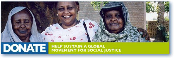 Donate: Help sustain a global movement for social justice