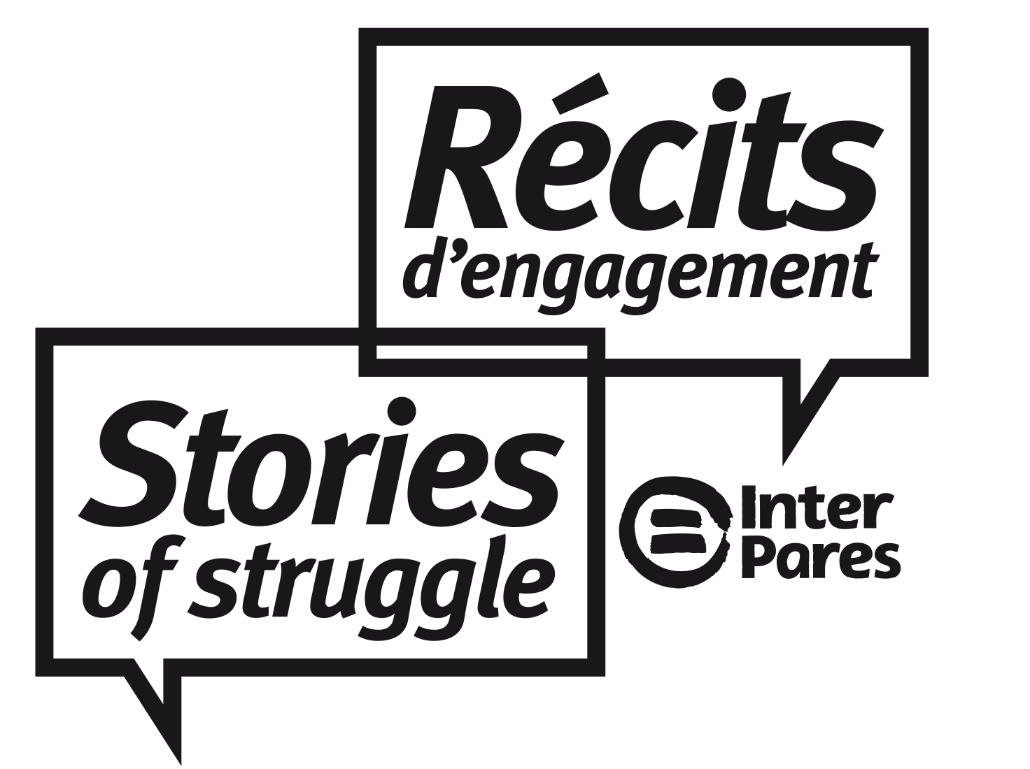 Stories of Struggle - recits d'engagement